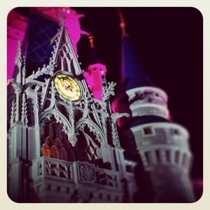 Cinderella Castle clock
