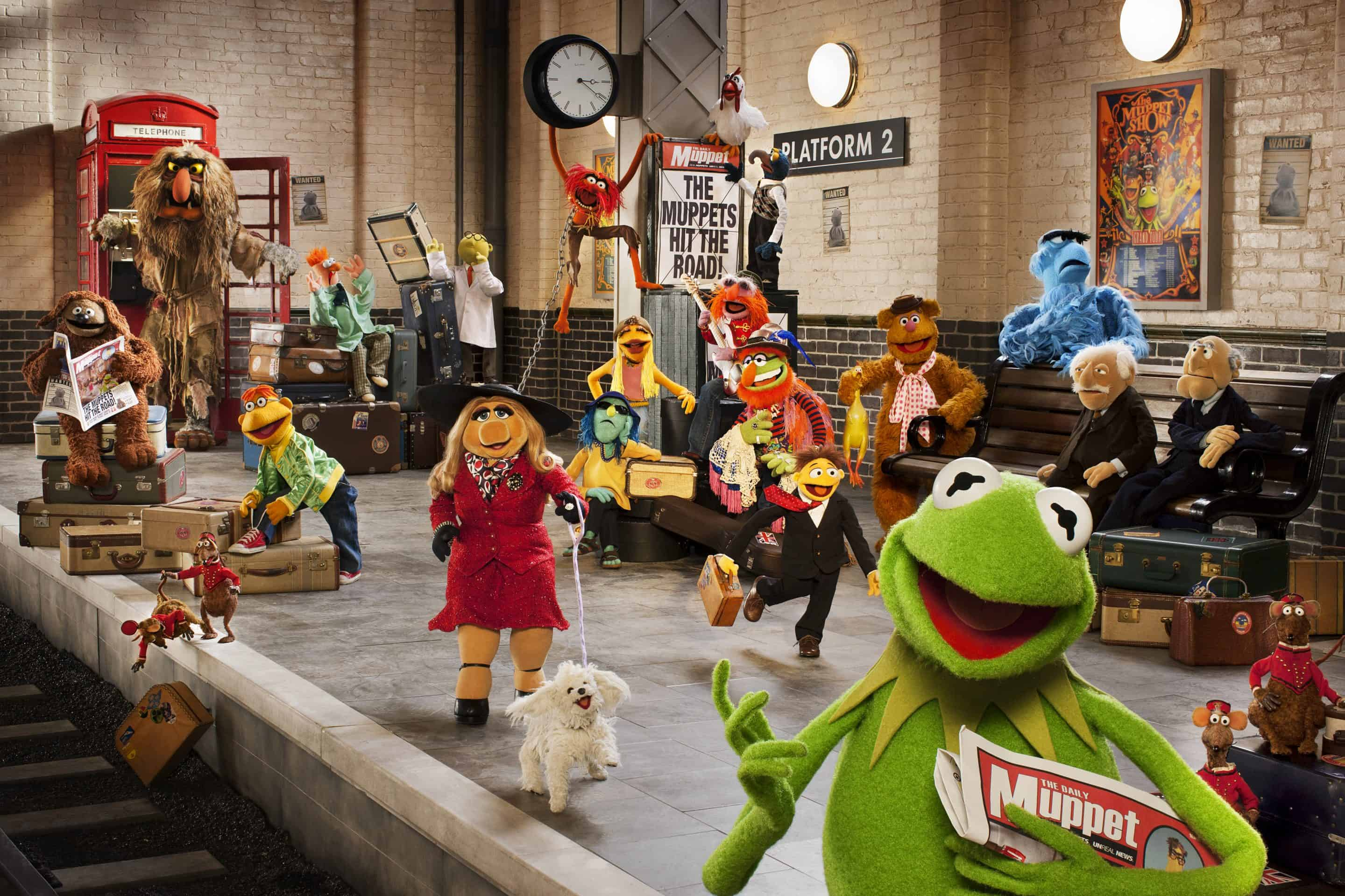 First Images from The Muppets…Again!