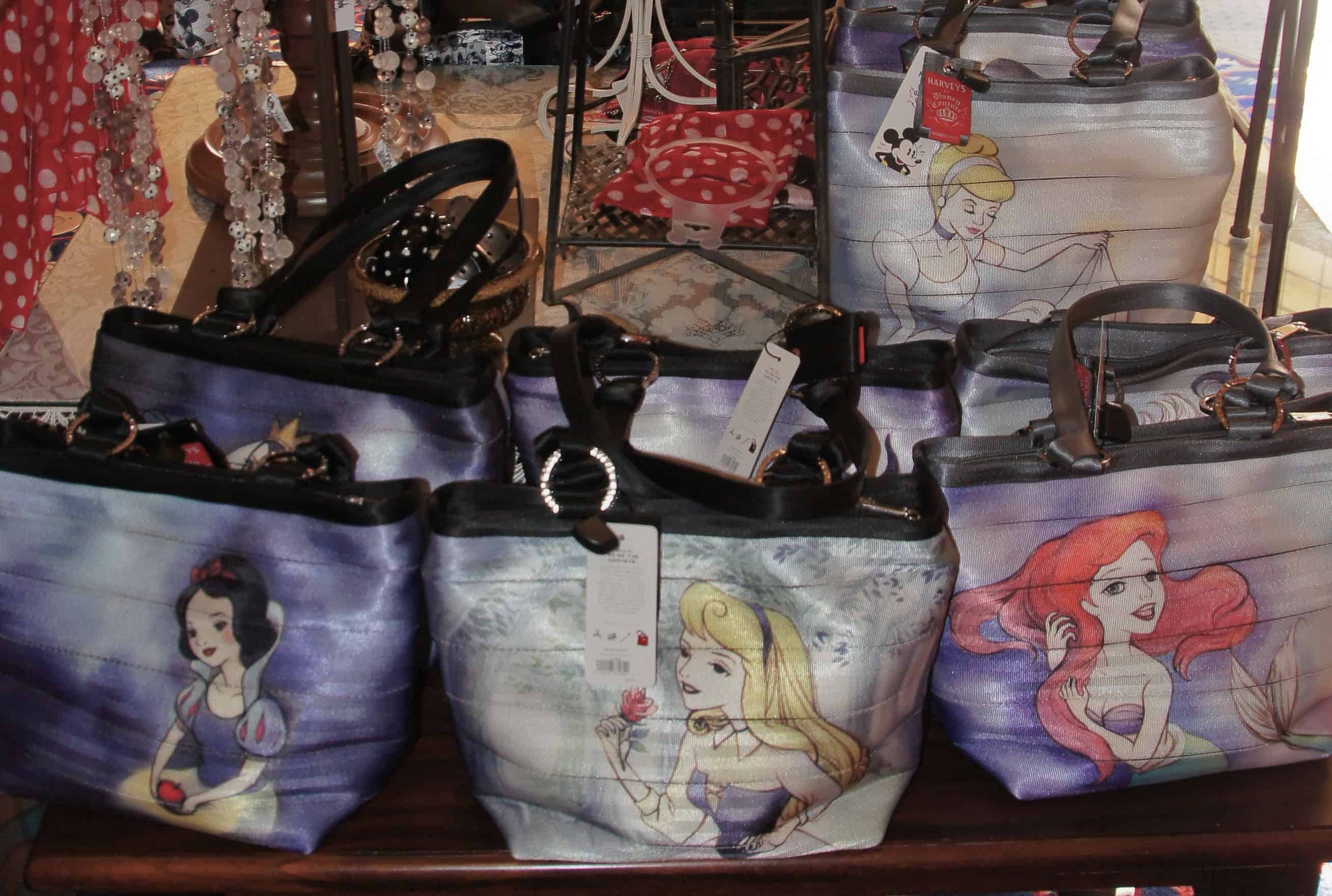 New HARVEYS for Disney Couture Good vs. Evil, Princess and Villains Seatbeltbag Collection