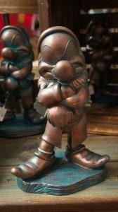 Garden Festival statue Grumpy