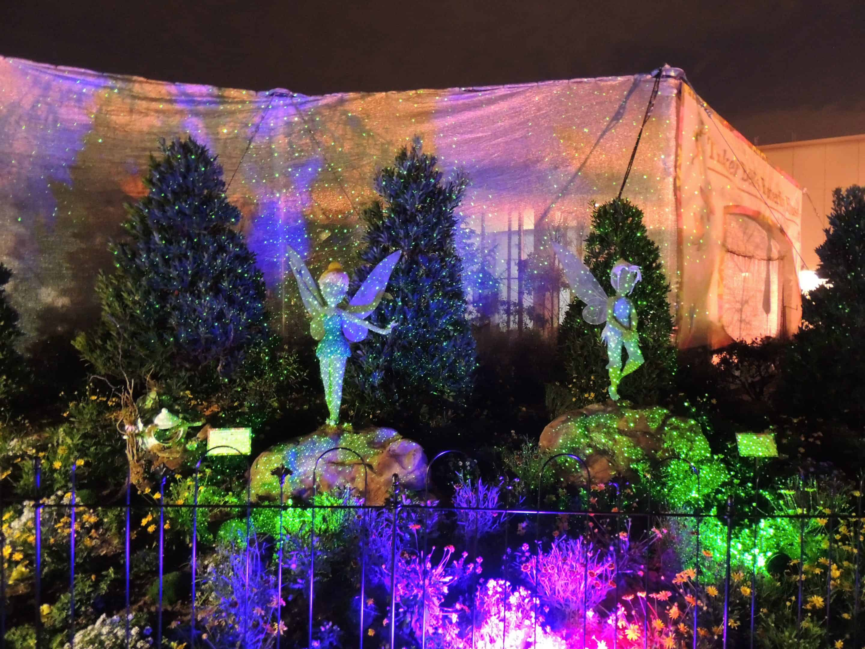 Nightime Magic at Epcot's Flower and Garden Festival
