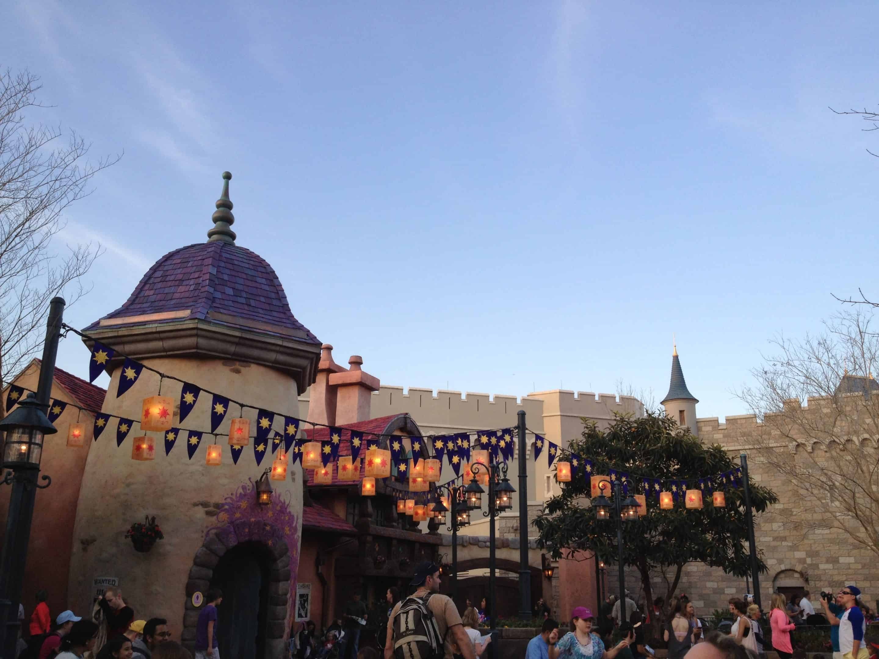 PHOTO TOUR: Tangled Area With Charging Stations Opens in Magic Kingdom