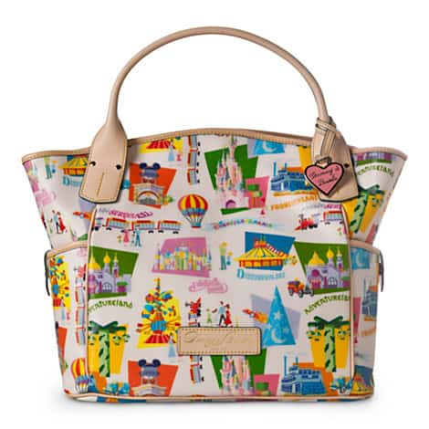 Disneyland Paris Dooney & Bourke Retro Tote Bag Available Online