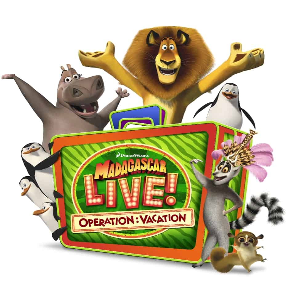 Madagascar Live at Busch Gardens