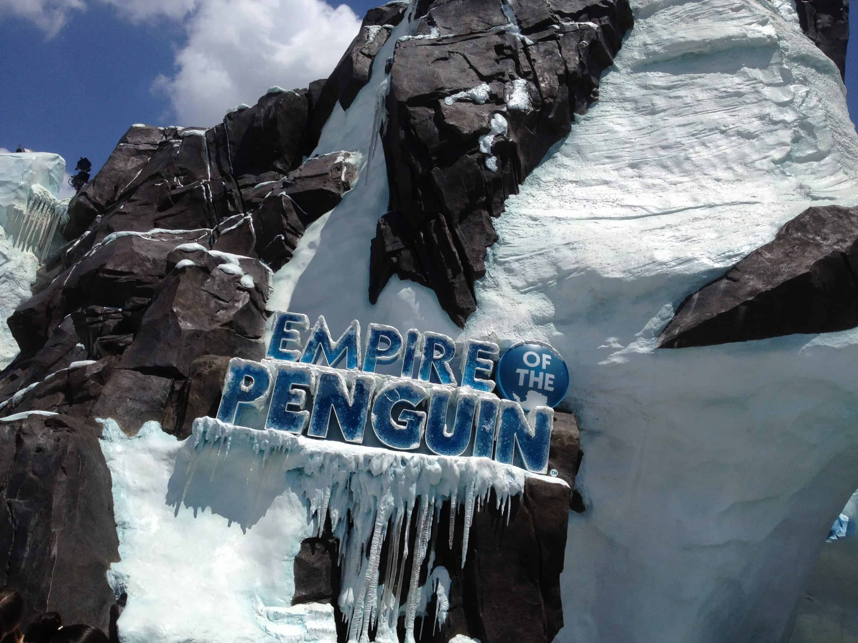 Waddle to the Bottom of the World at SeaWorld's Antarctica:Empire of the Penguin