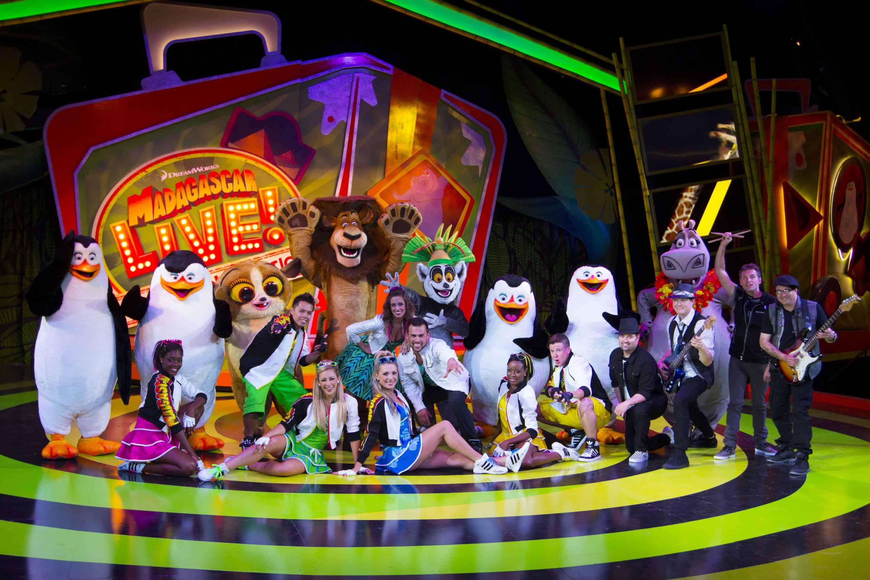 Busch Gardens Premiers a Fun New Madagascar Live Show