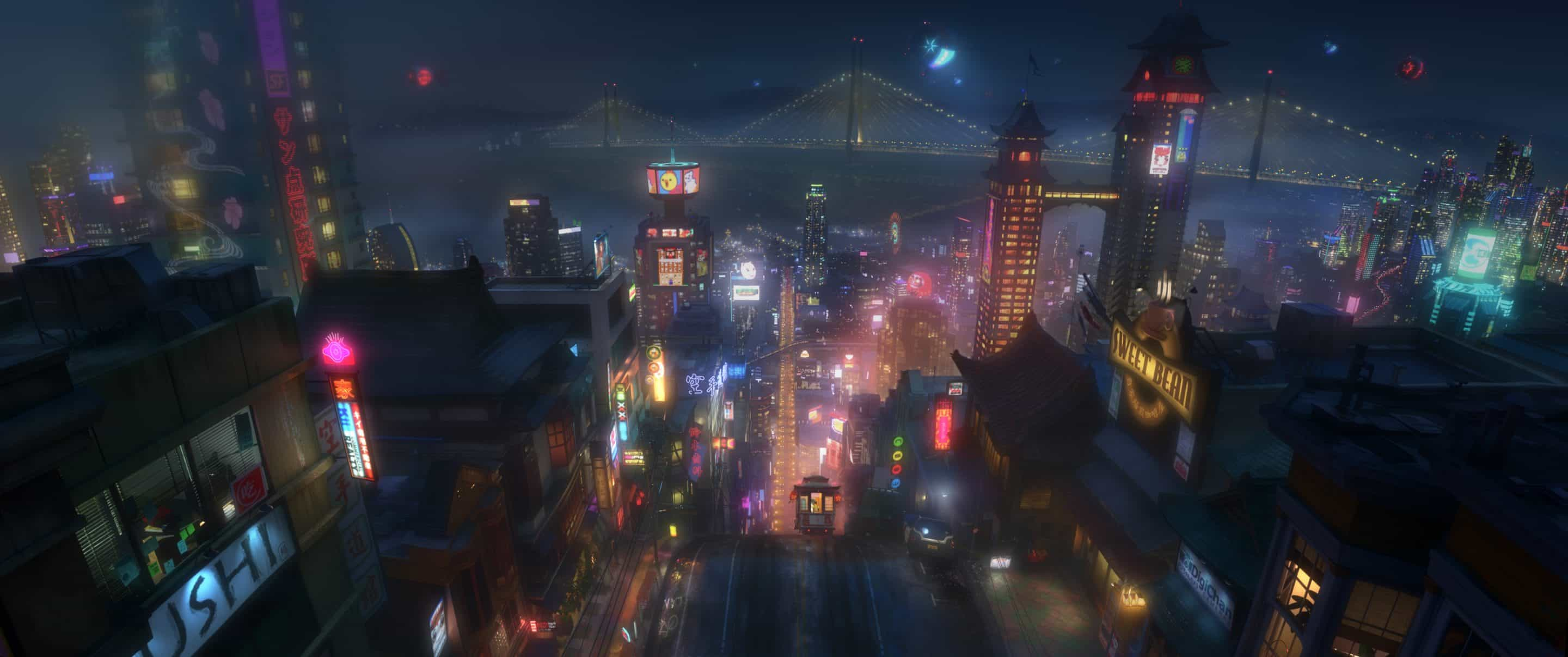 "A Closer Look at Walt Disney Animation's Newest Feature ""Big Hero 6"""