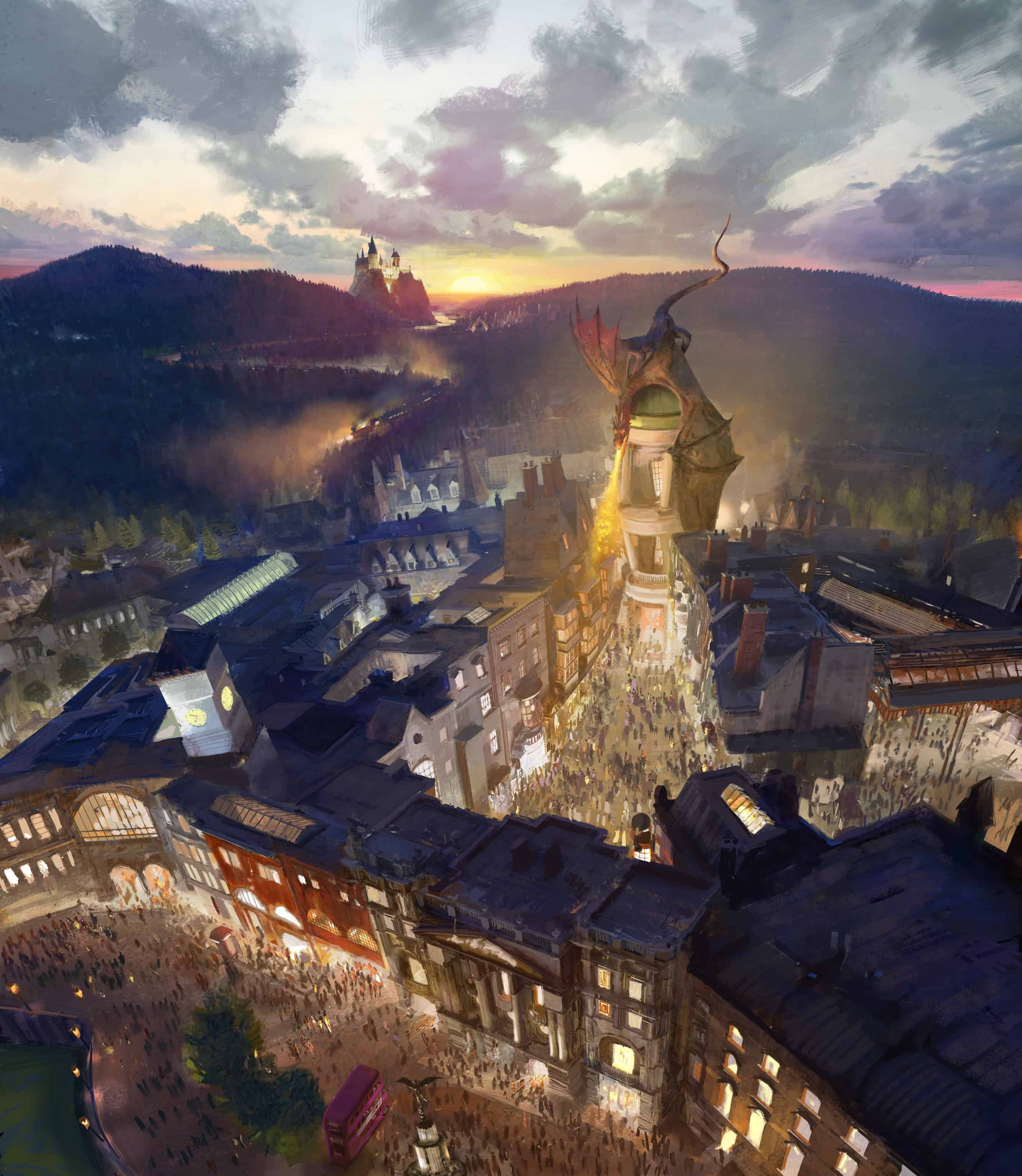 The Wizarding World of Harry Potter – Diagon Alley – Coming Soon!
