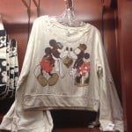 Mickey & Minnie Kissing Sweater