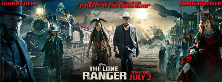THE LONE RANGER is Riding in July 3, 2013-Latest Behind the Scenes Fun and Fan Contest