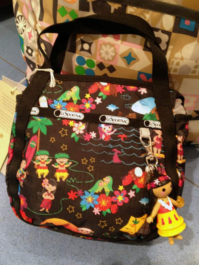 NEW! Exclusive Look at Disney and LeSportsac HAWAII Print Bags!