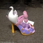 Disney Daisy Duck character-inspired shoe ornament