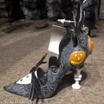Disney Jack Skellington character-inspired shoe ornament