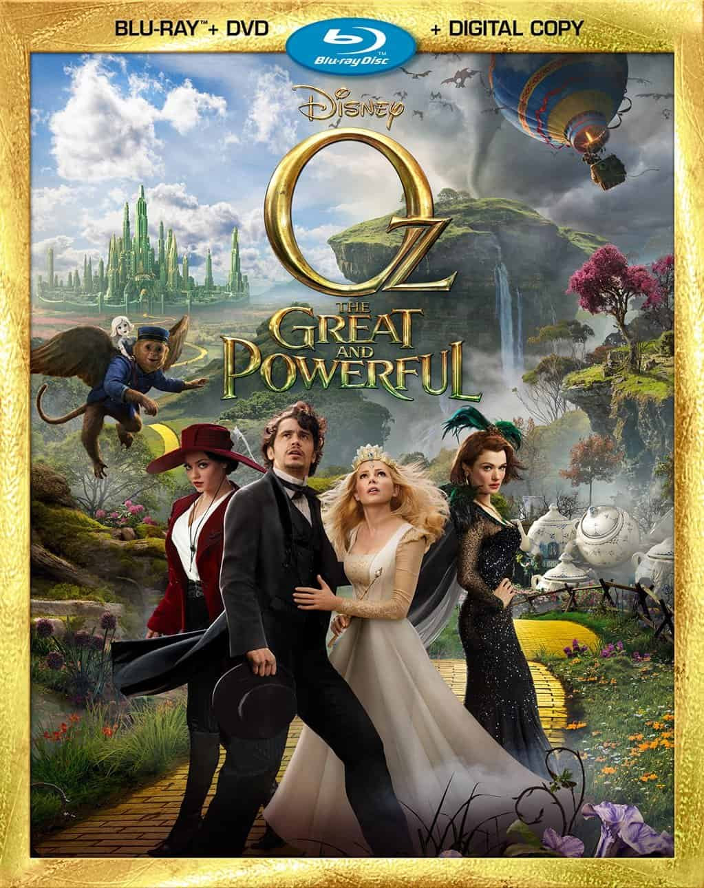 Oz the Great and Powerful on DVD and Blu-Ray