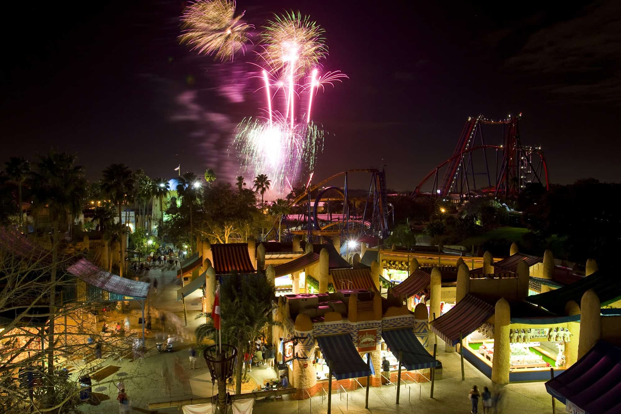 Celebrate Fourth of July at Busch Gardens Tampa Extended Hours and