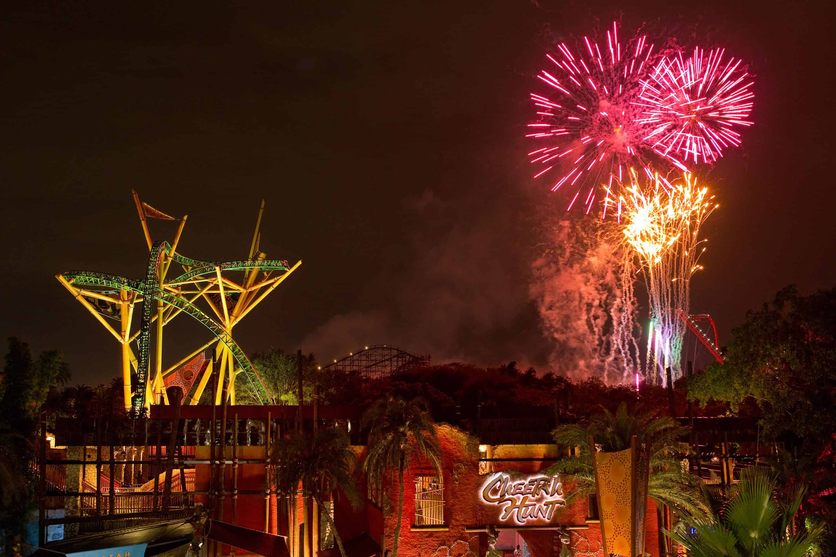 Celebrate Fourth of July at Busch Gardens Tampa-Extended Hours and Fireworks All Week