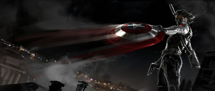 Captain America 2 Concept Art