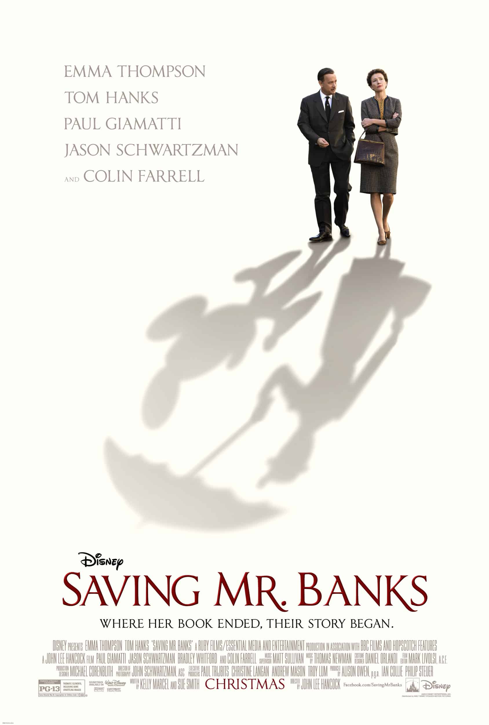 NEW: Official Poster for Saving Mr. Banks