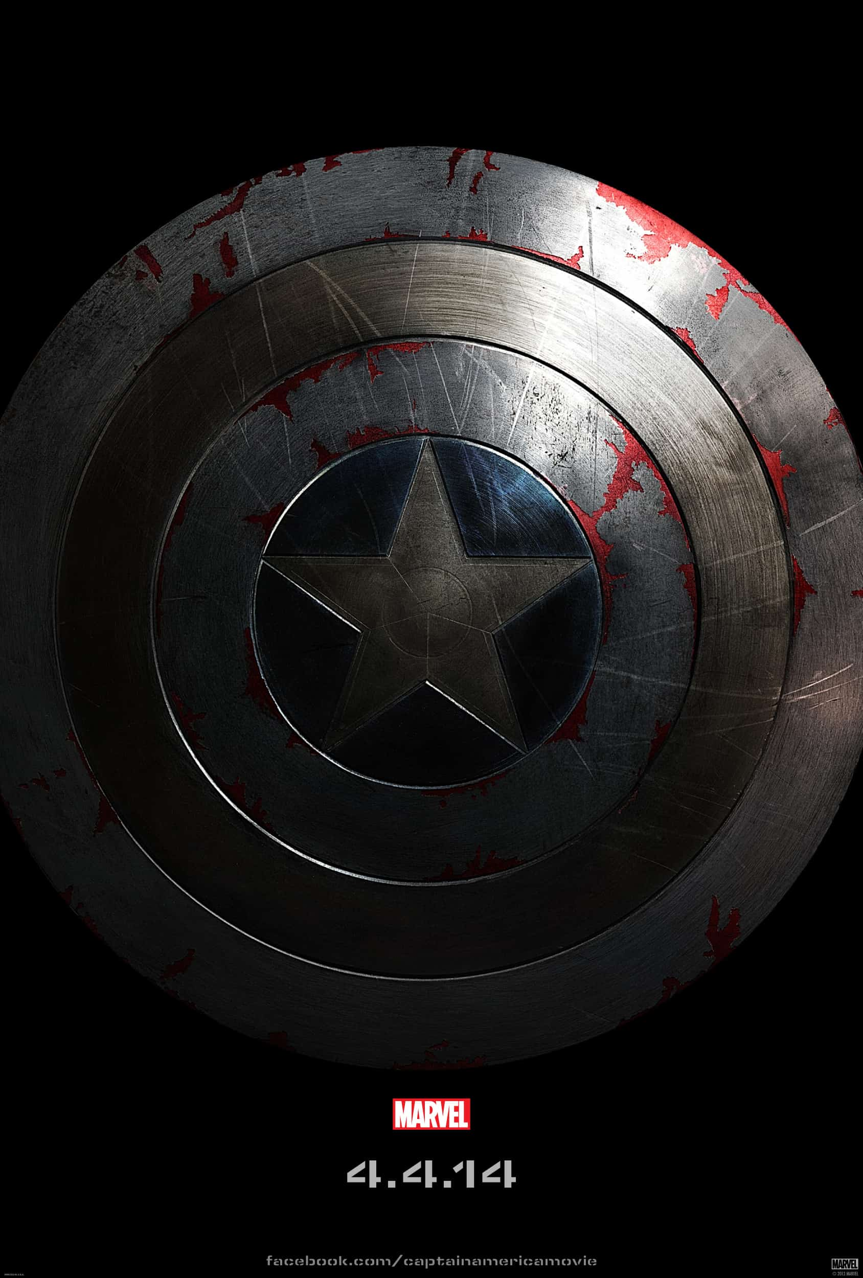 NEW Teaser Poster for Captain America: The Winter Soldier