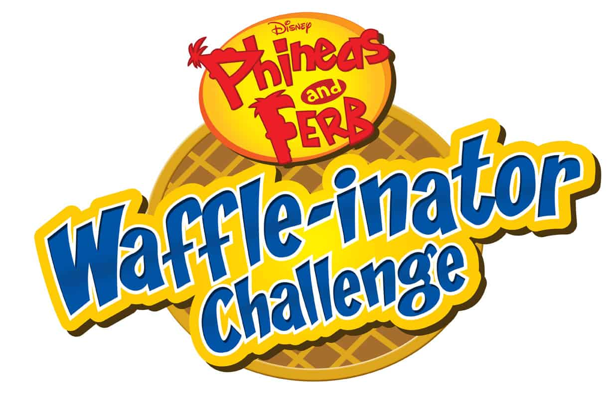 "40-Foot Tall ""Waffle-Inator"" From Phineas and Ferb: Mission Marvel Debuts at D23 Expo"