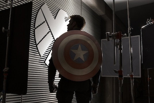 Captain America 2 production image