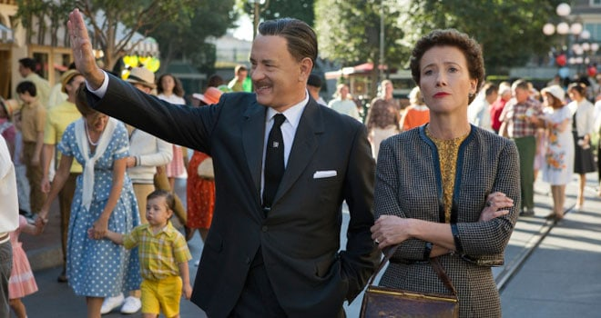 Saving Mr. Banks Comes to Blu Ray and DVD