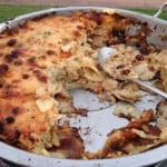 Craisin Bacon and Brie Potato Gratin