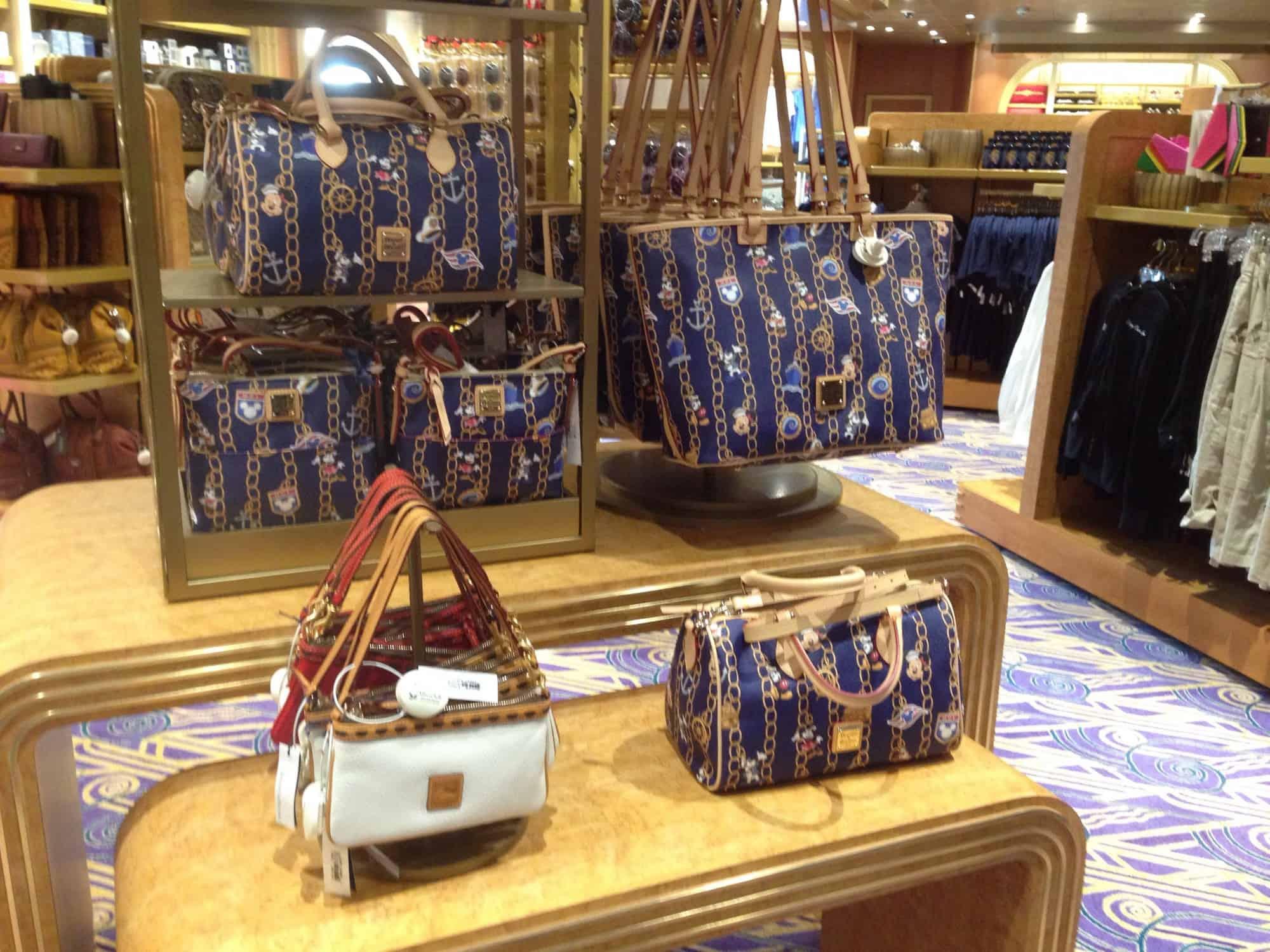 Disney Cruise Line Dooney Charms Bag