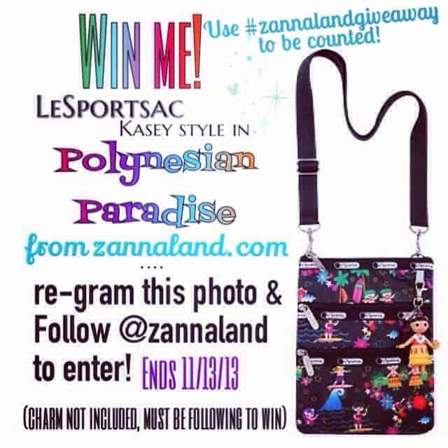 LeSportsac Zannaland Giveaway