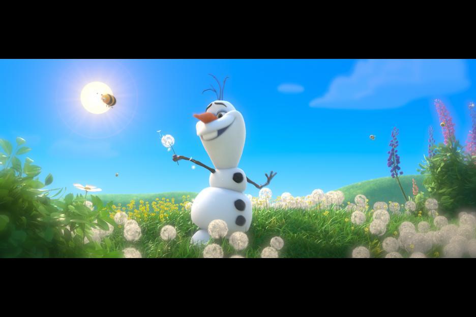 frozen Olaf - In Summer