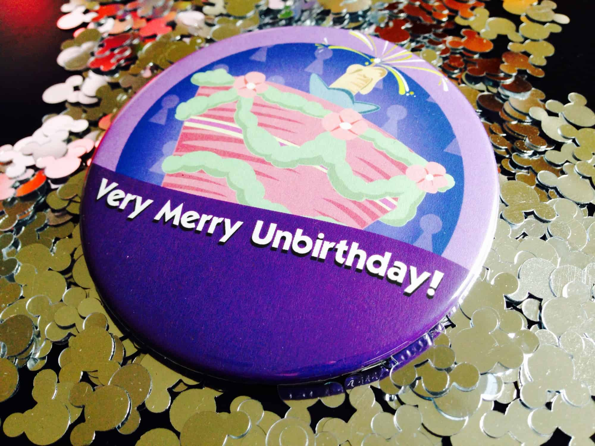 UnBirthday Button