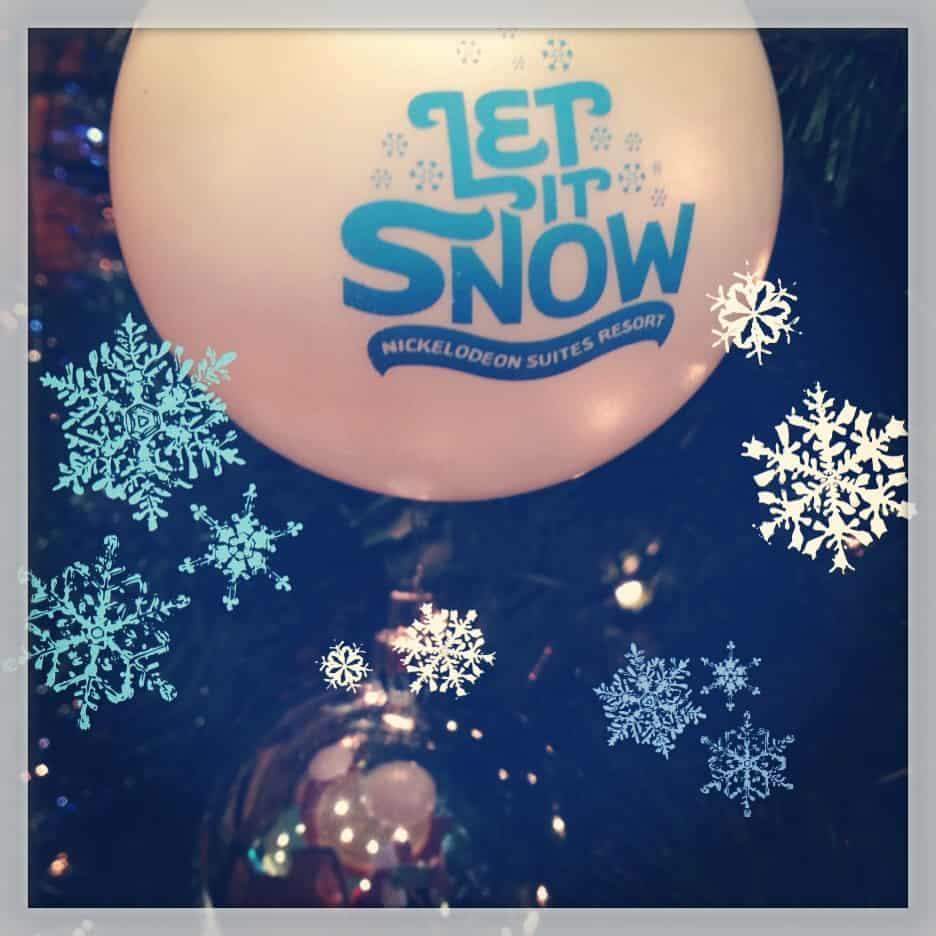Nick Hotel Let It Snow Celebration