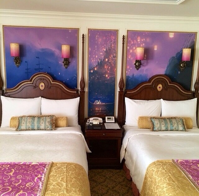 Tangled Guest Room Tokyo Disneyland Hotel