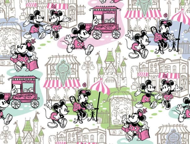 Mickey and Minnie Parks Dooney