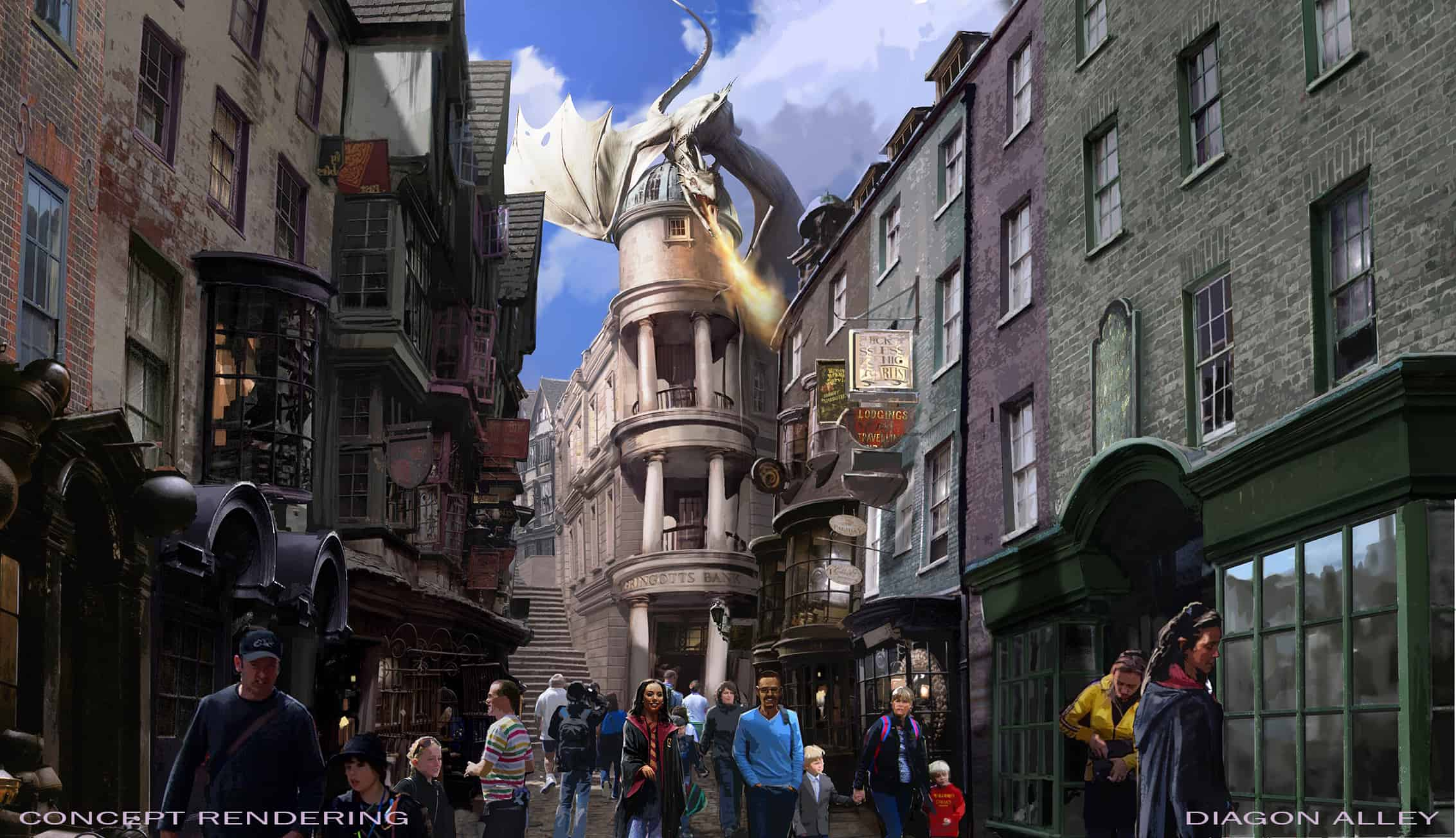 Details of the Wizarding World of Harry Potter's Diagon Alley Expansion