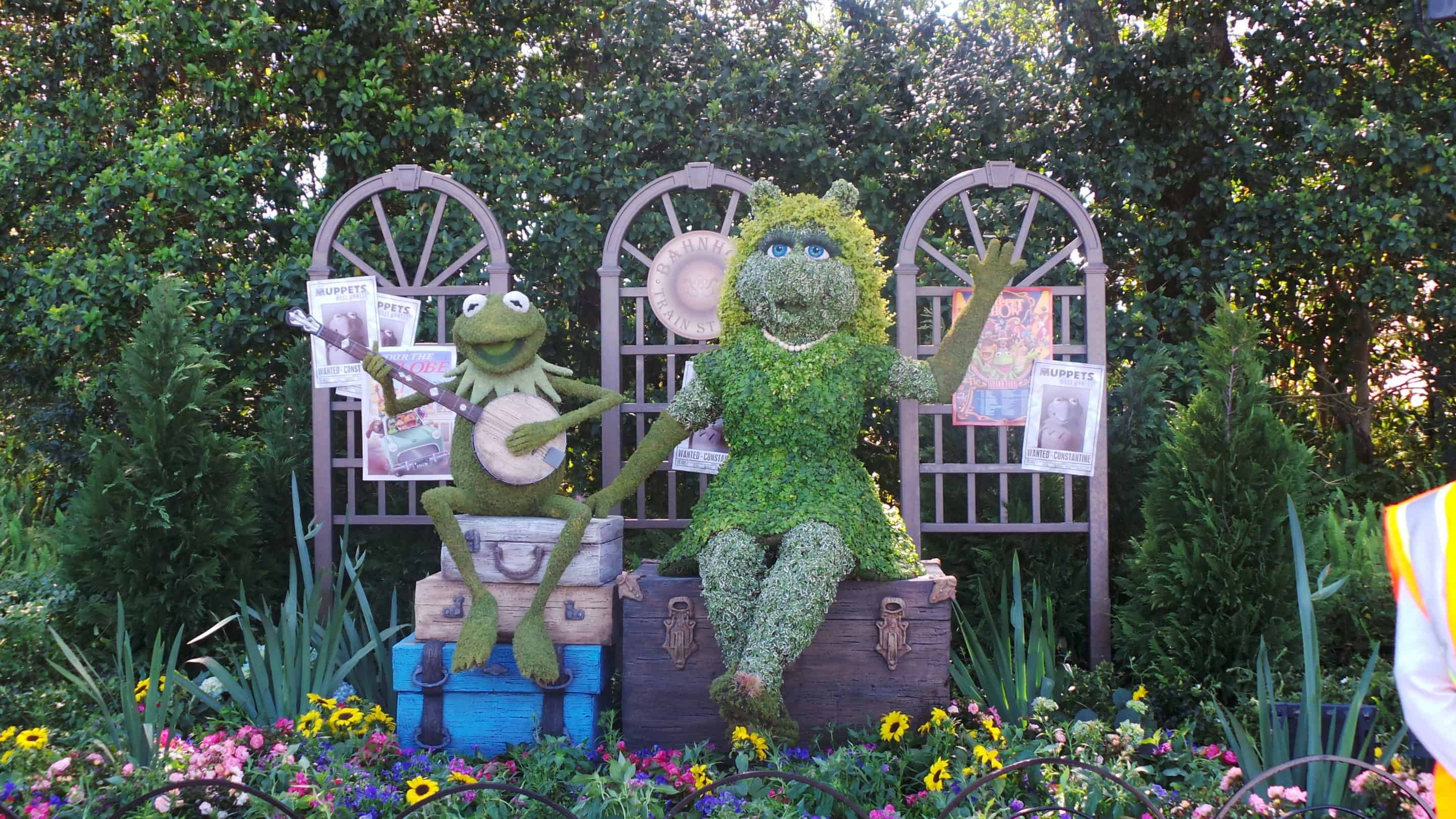 Behind the Scenes Preview of the 2014 Epcot Flower & Garden Festival