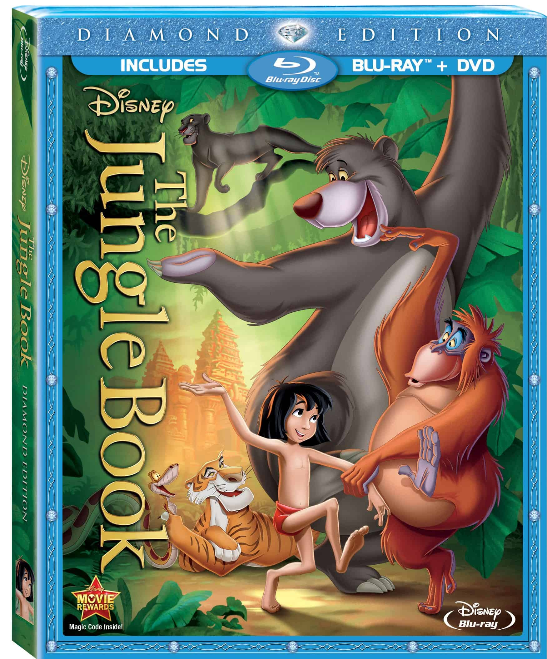 The Jungle Book Swings onto Diamond Edition Blu-ray 2/11/14