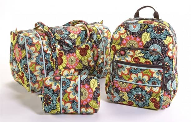 Newest Disney Vera Bradley Print Mickey's Perfect Petals to Debut May 4