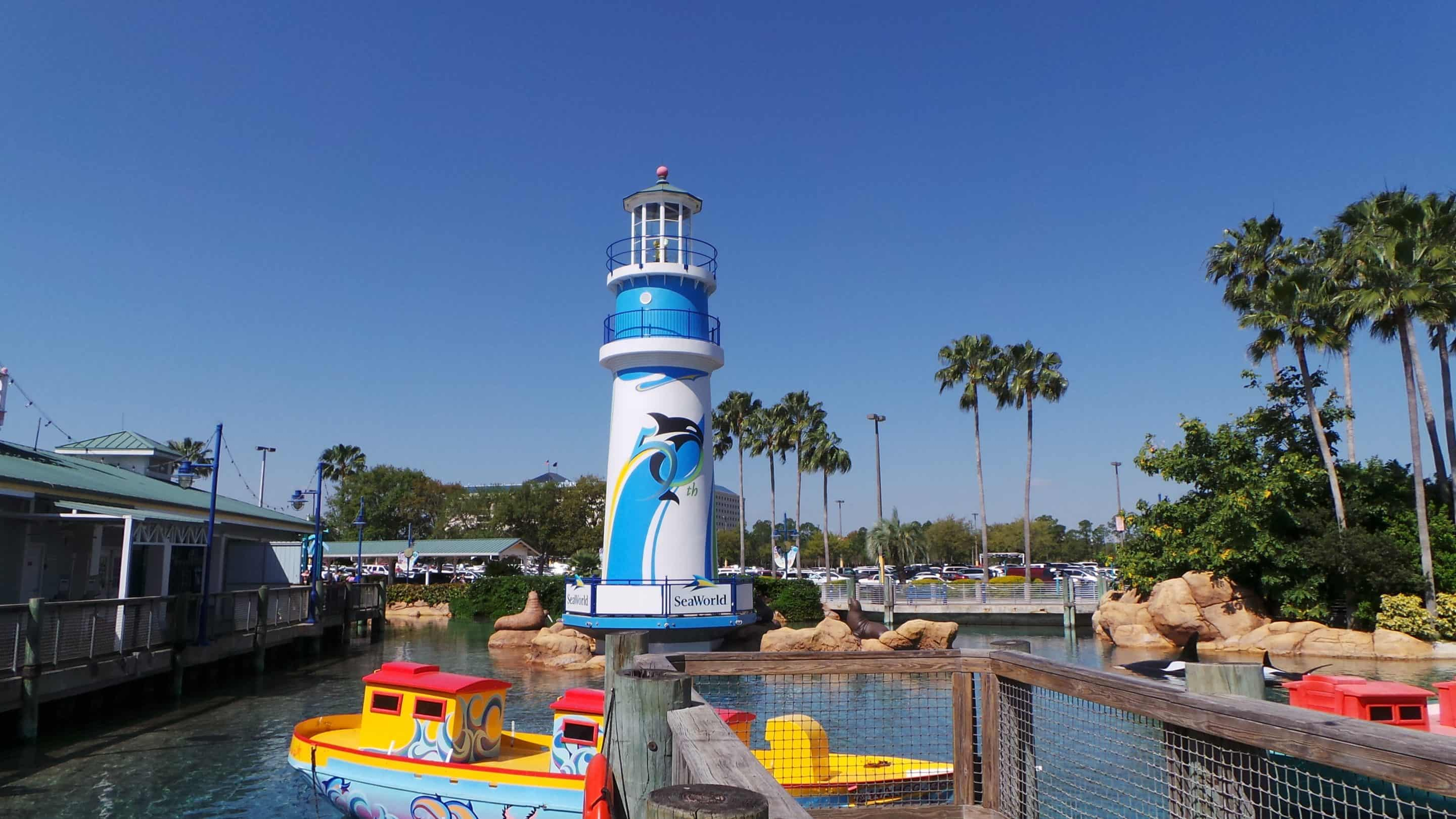SeaWorld's Just for Kids and 50th Anniversay Sea of Surprises