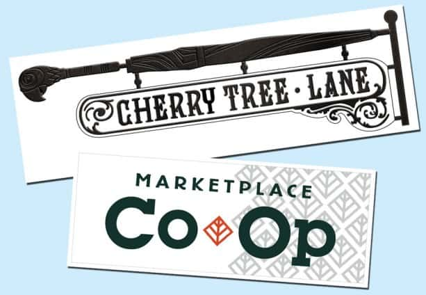 Cherry Tree Lane sign - image ©Disney