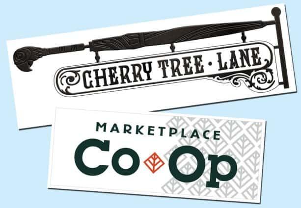 Cherry Tree Lane sign - image ©Disney