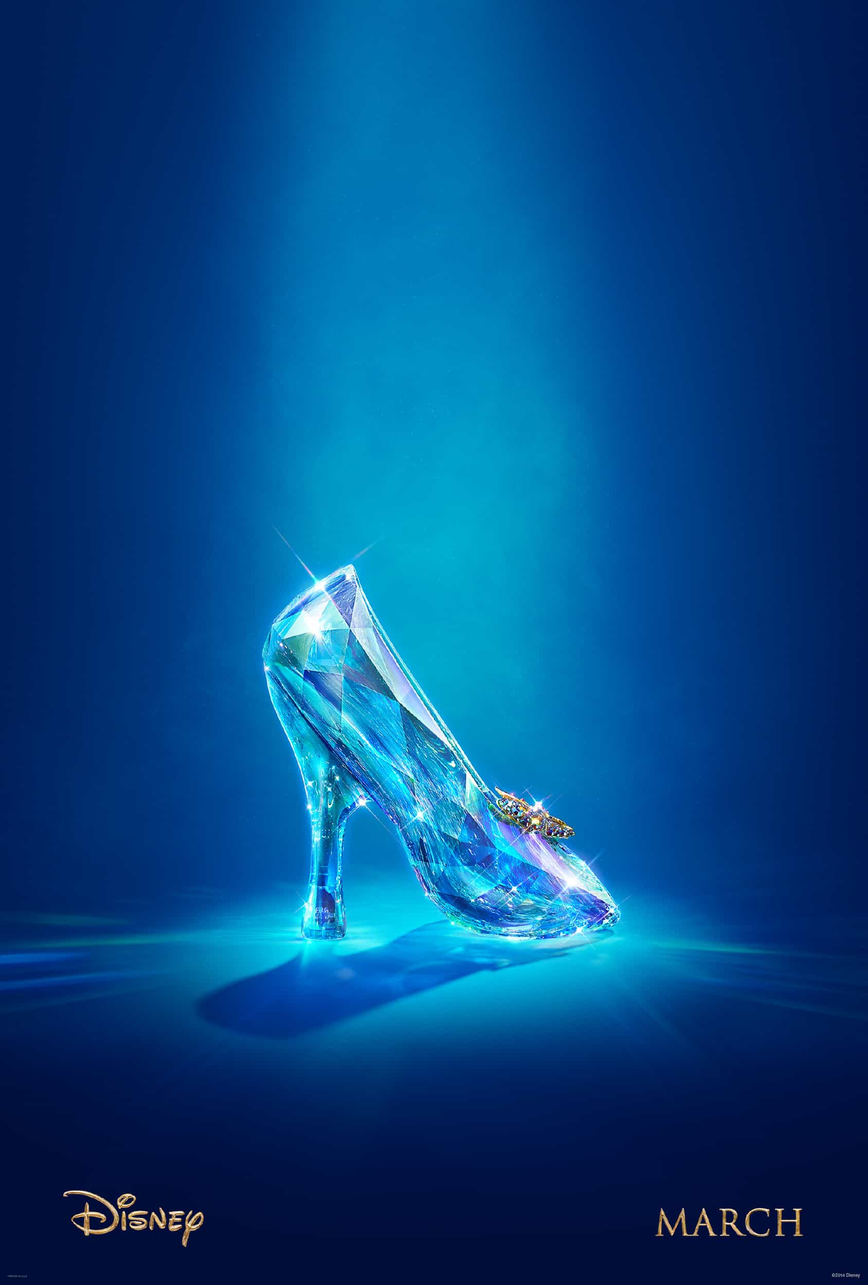 Disney's Cinderella Live Action Movie Poster and Teaser