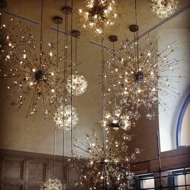 Four Seasons Orlando chandelier