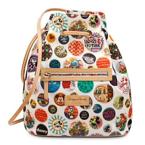 NEW Disney Dooney & Bourke Buttons and Street Scene Bags at Disney Store
