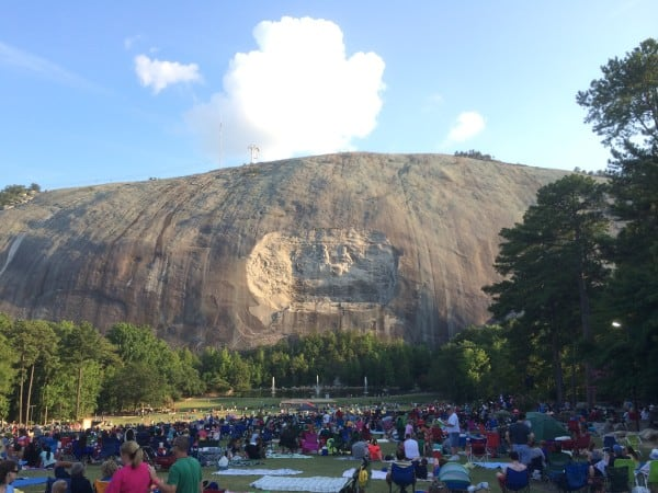 Summer Adventures: Stone Mountain in Georgia