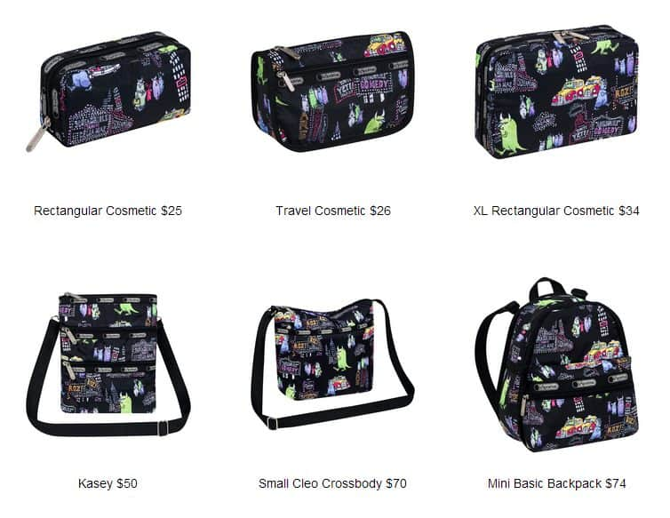 Monsters Inc LeSportsac