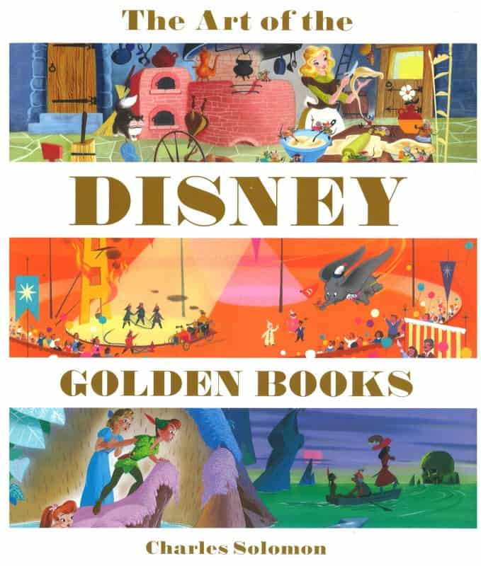 Book Review: The Art of the Disney Golden Books