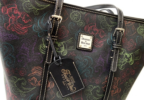 NEW Epcot Food & Wine Festival Inspired Disney Dooney and Bourke Bags