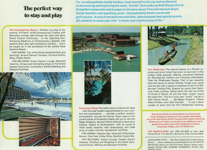 Vintage WDW guide