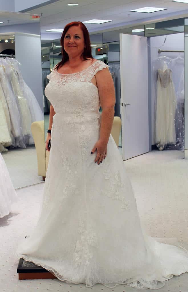 The Alfred Angelo Snow White dress - style 239